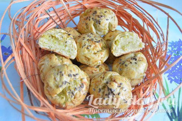 ароматные капустные булочки
