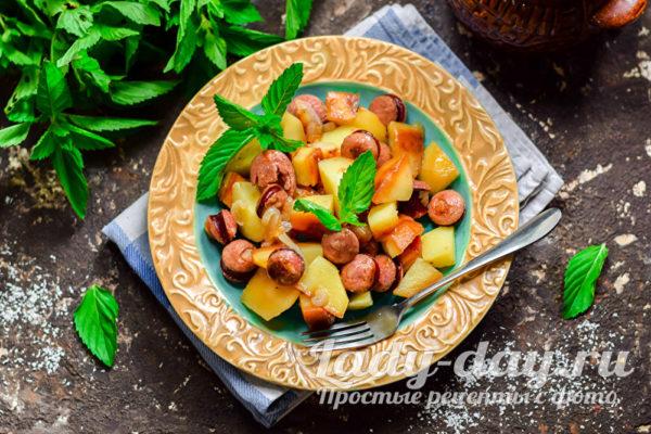 картошка запеченная в горшочке