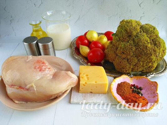 продукты для блюда