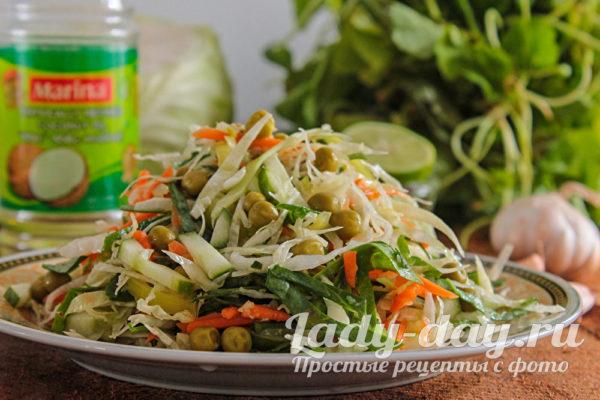 овощной быстрый салат