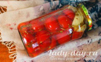 помидоры с яблоками на зиму рецепт