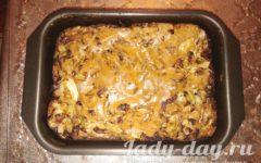заливной пирог с капустой рецепт с фото в духовке пошагово