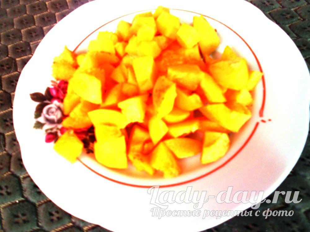 кусочки абрикоса