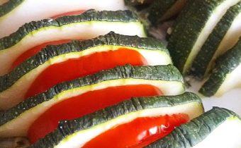 Кабачки с помидорами в духовке - рецепт быстрый и вкусный