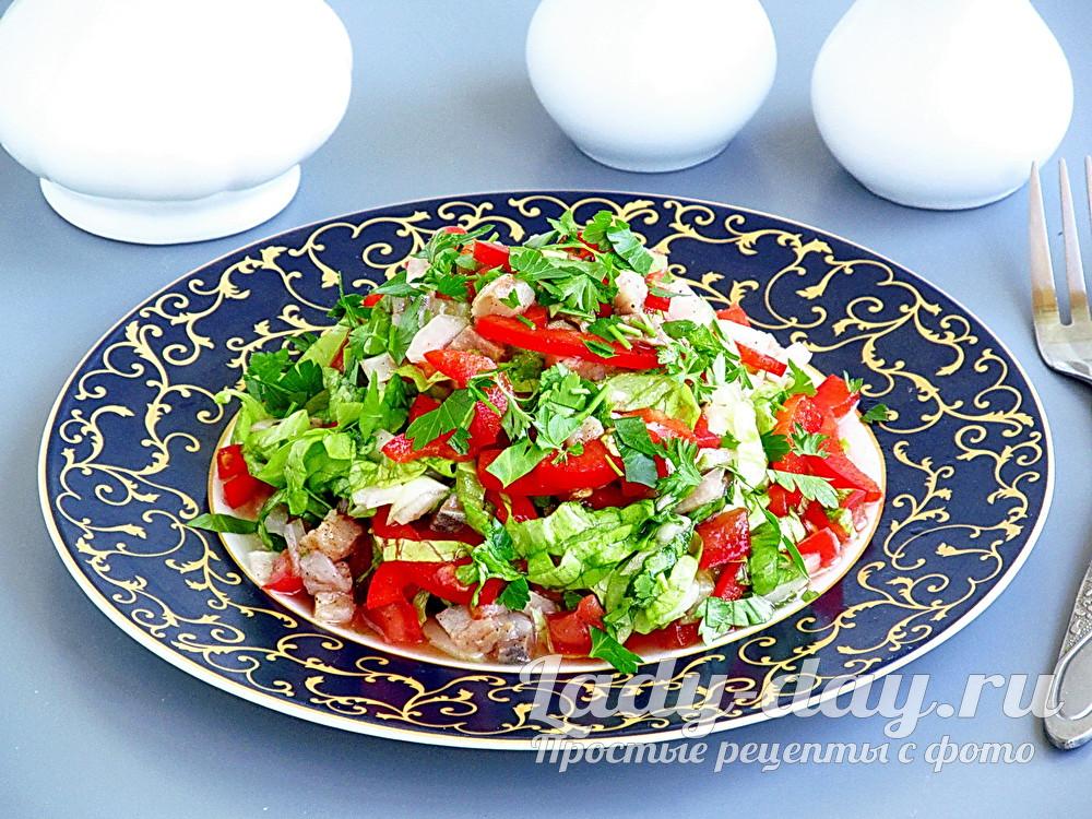 салат из селедки рецепт с фото очень вкусный