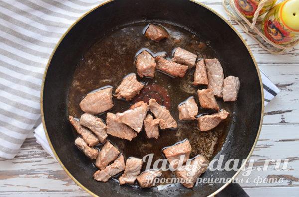 жарим мясо в соевом соусе