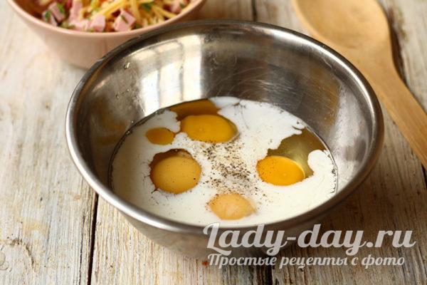 молоко и яйца