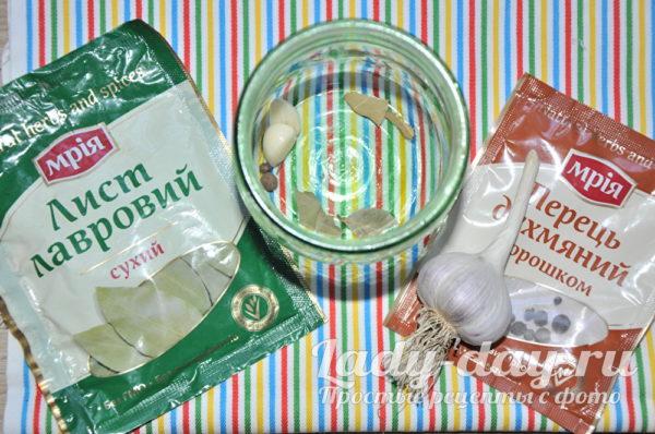 специи и соль для квашения