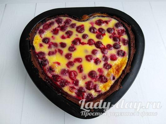 пирог из вишни