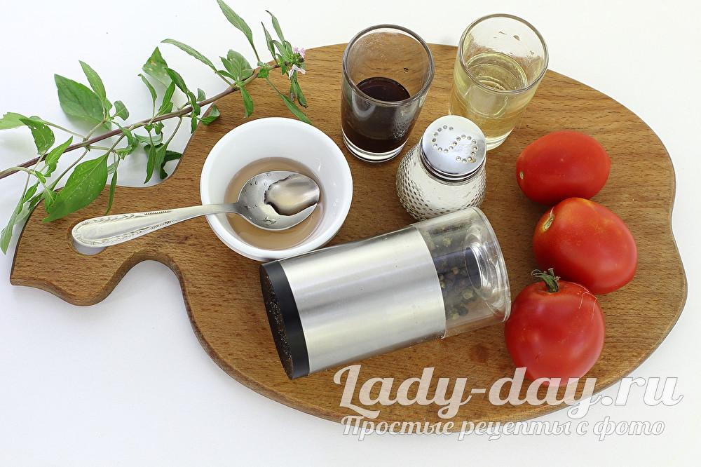 специи и помидоры
