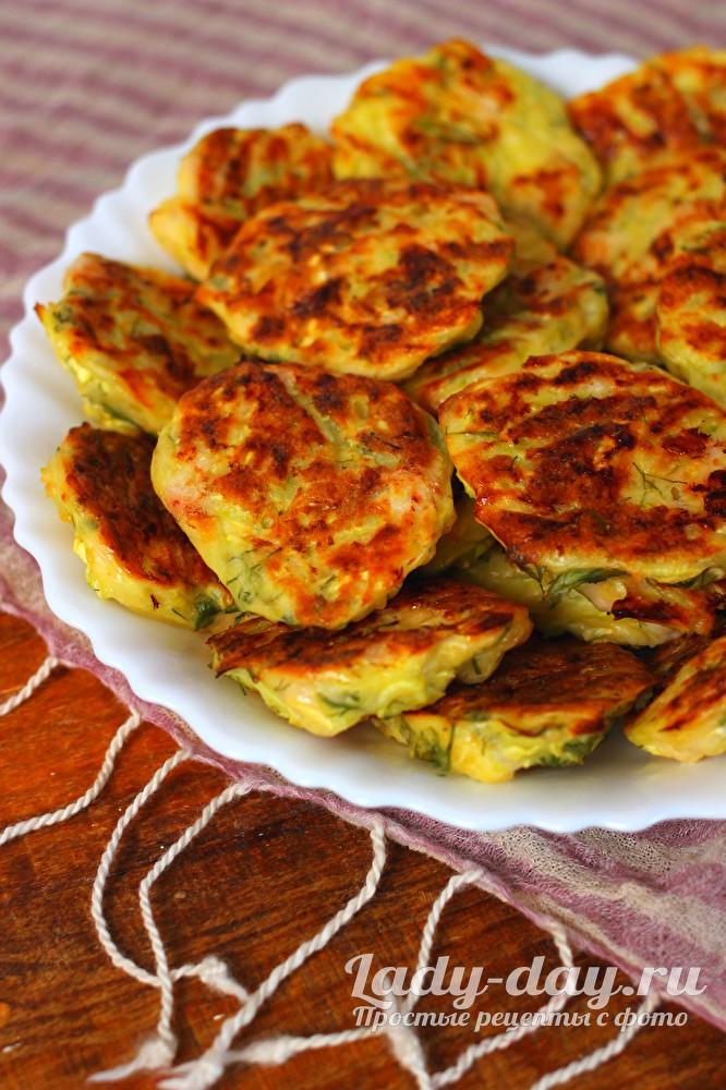Оладьи из кабачков - самый вкусный рецепт в духовке