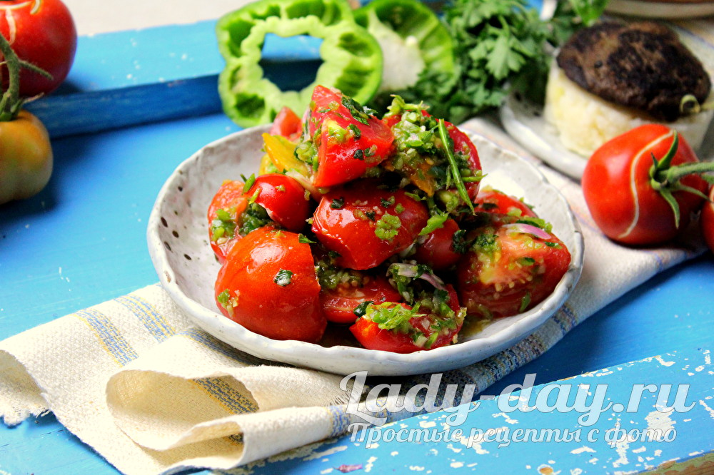 Суточные маринованные помидоры