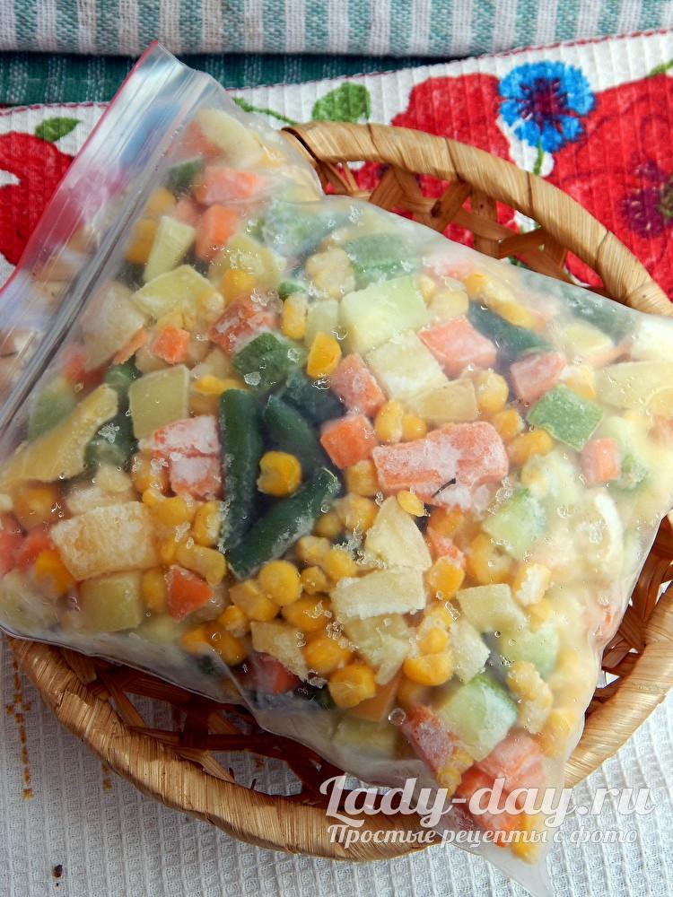 как заморозить овощи на зиму фото