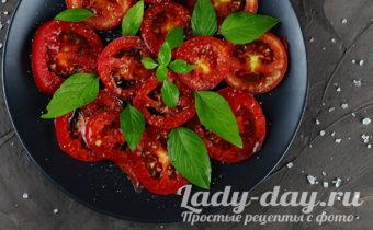 Карпаччо из помидоров