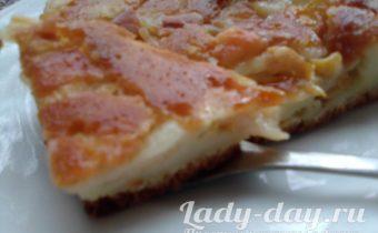 Пирог с грушами в духовке, пошаговый рецепт с фото