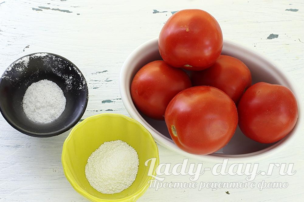 помидоры и соль