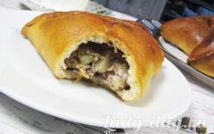 Пирожки с фаршем в духовке, рецепт с фото простой и вкусный