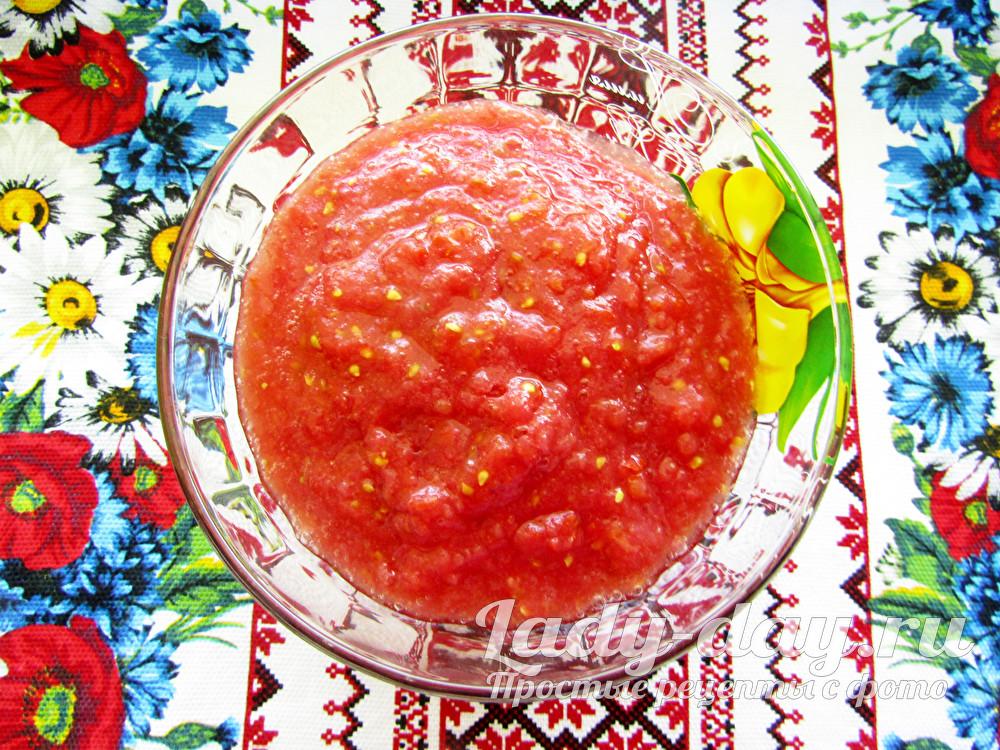 пюре из томатов