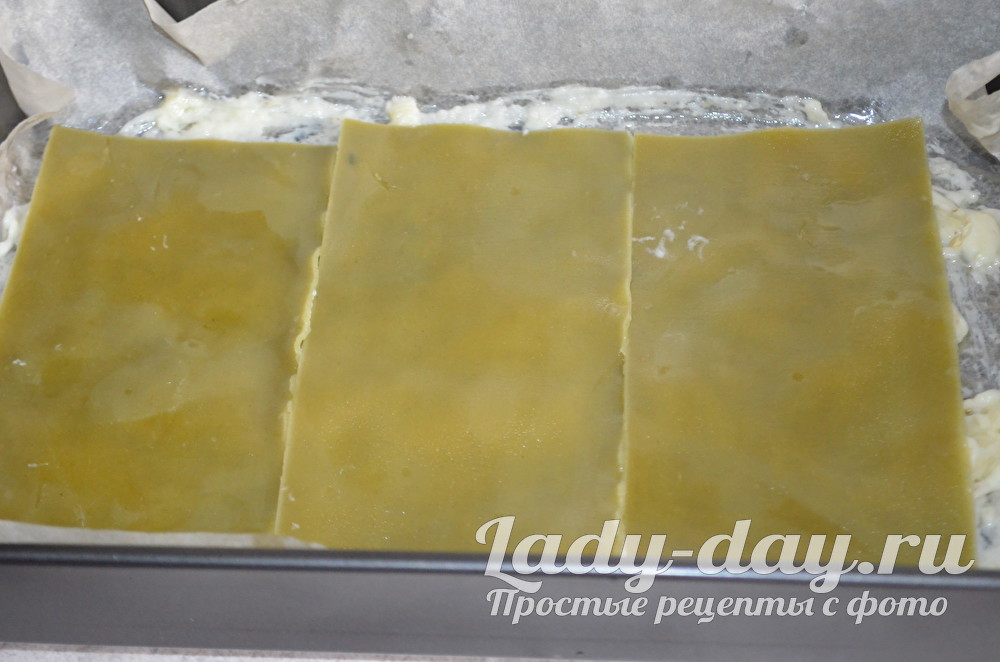 тесто лазаньи