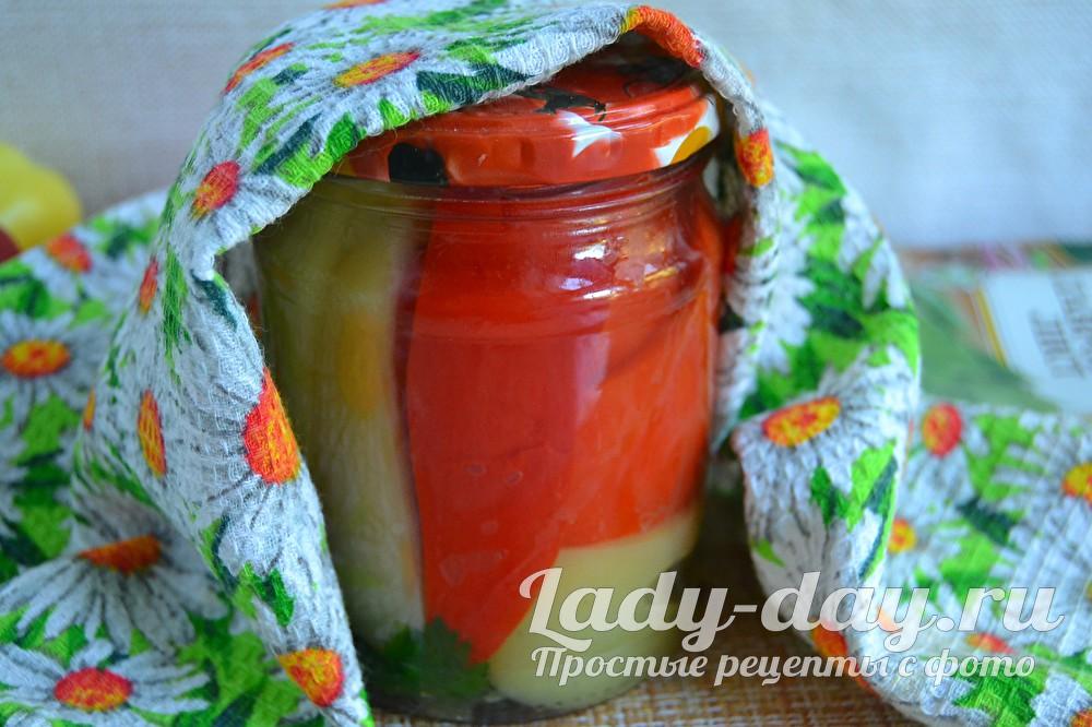 маринованный сладкий перец на зиму рецепт без стерилизации