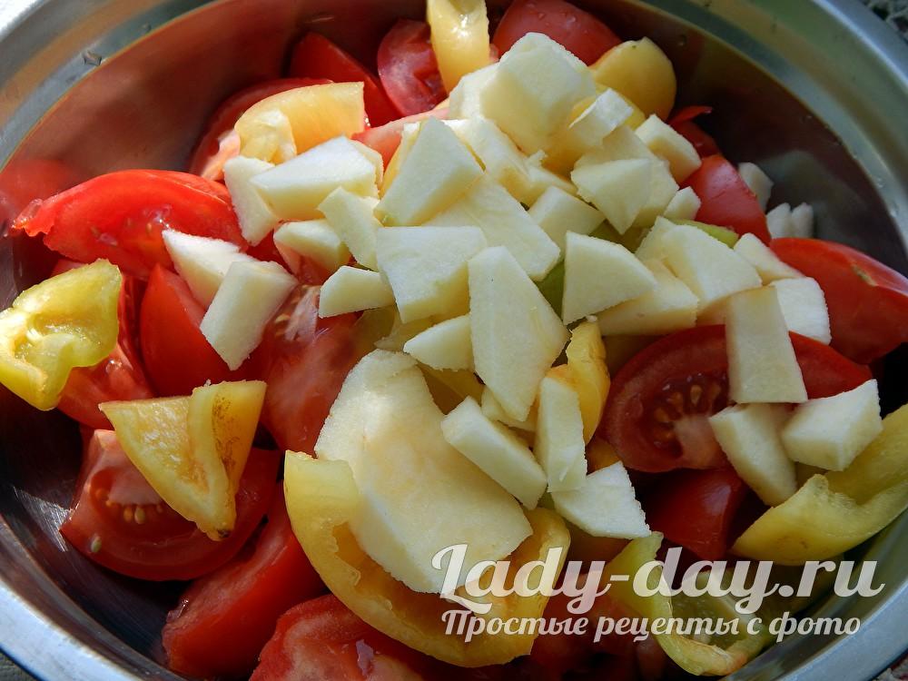 яблоки помидоры перец