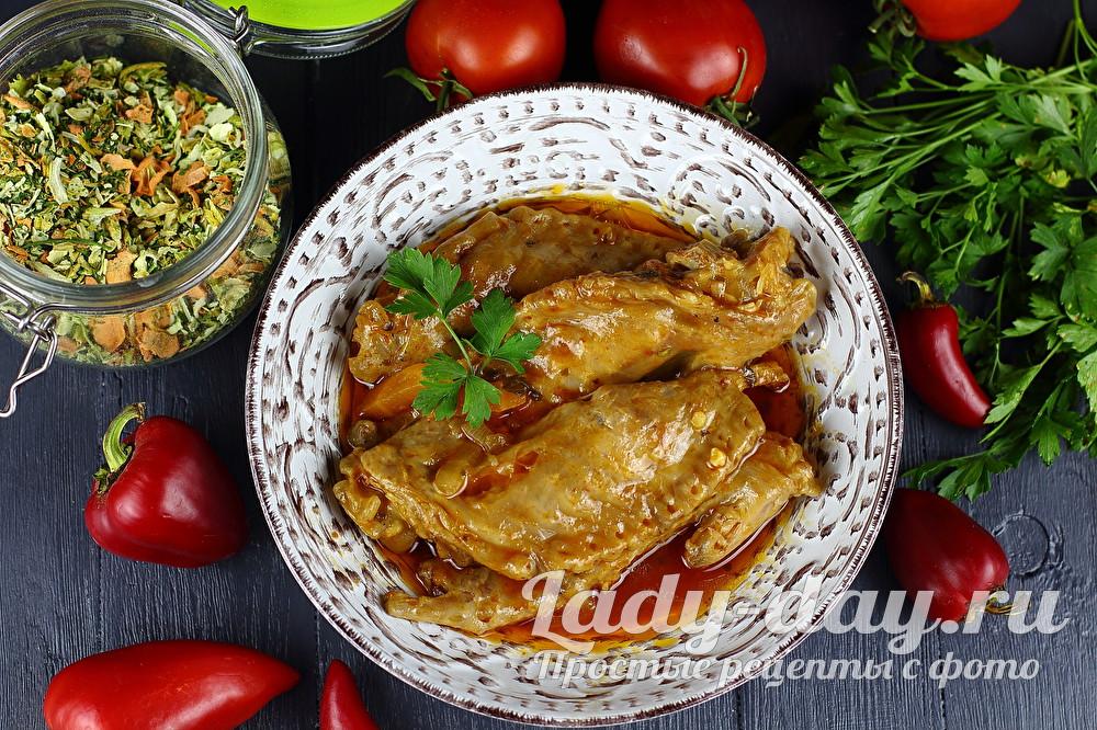 Рецепт как вкусно приготовить крыло индейки