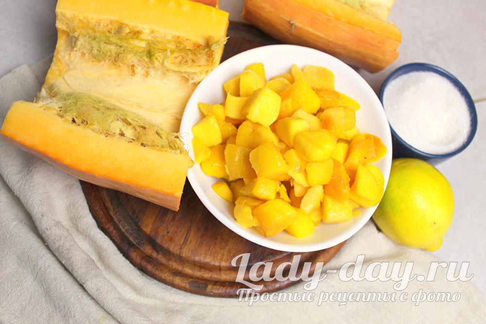 манго и тыква