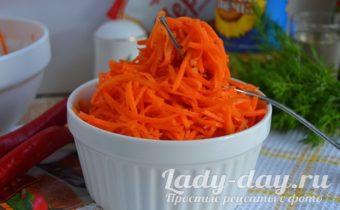 Морковь по-корейски рецепт