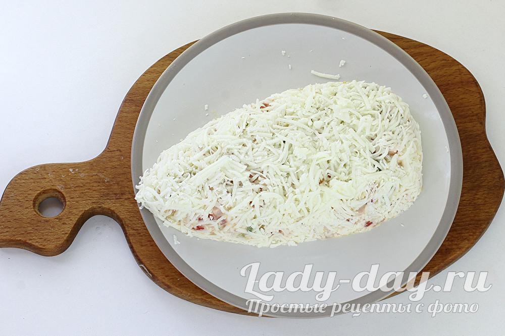 сыр сверху