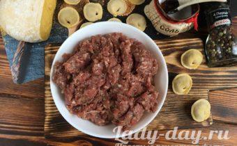 вкусный мясной фарш