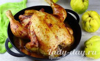 курица целиком в духовке рецепт самый вкусный