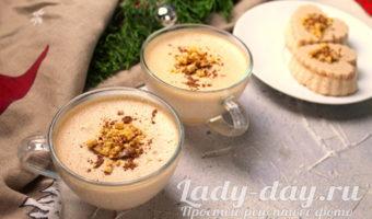 десерт из ряженки желатином и какао