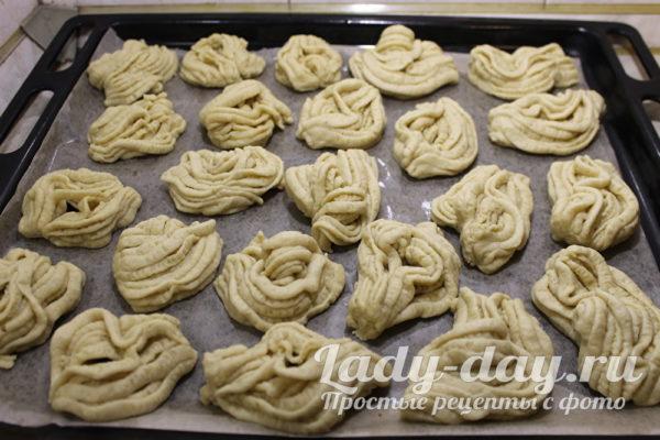 Творожное печенье, рецепт с фото