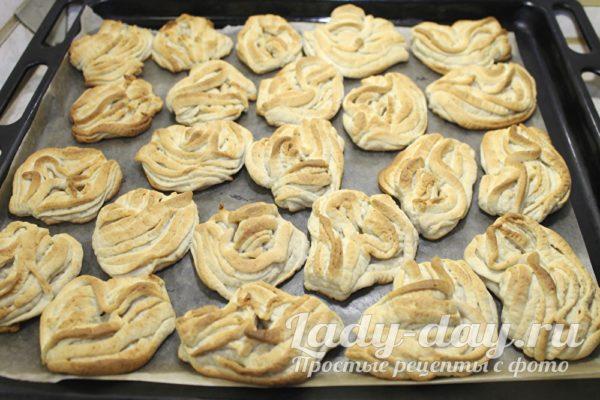 Творожное печенье, рецепт с фото пошагово в духовке
