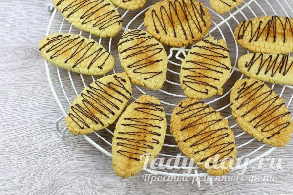 печенье на растительном масле рецепт с фото