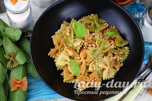 паста с фаршем и томатной пастой рецепт итальянский