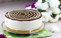 Торт Пломбир без выпечки - рецепт с фото пошагово, в домашних условиях