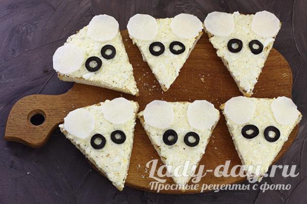 Бутерброды «Мыши»