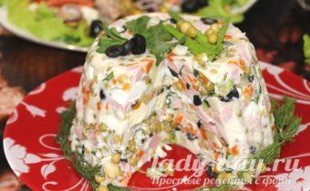 салат Оливье по-новому, рецепт с фото пошагово