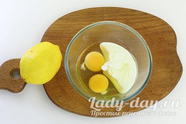 кефир и яйца