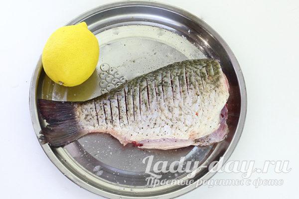 перец и лимон на рыбу