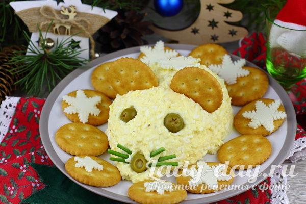 Сырная закуска «Мышонок»