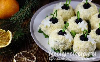 закуска - сырные шарики, рецепт