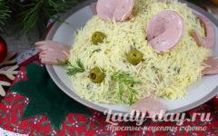 Салат на Новый год 2020 - Крыса, рецепт с фото пошагово