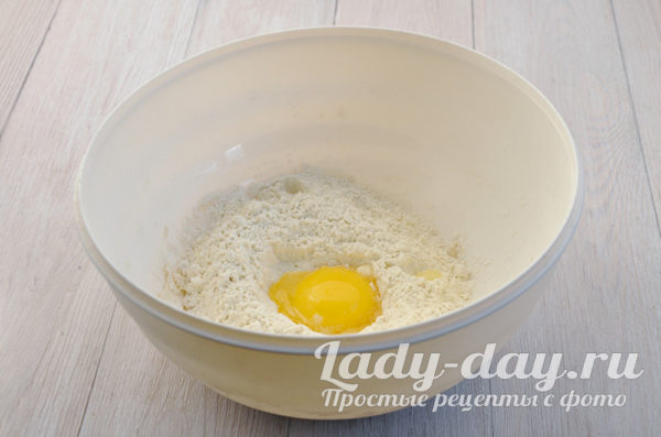 мука яйцо