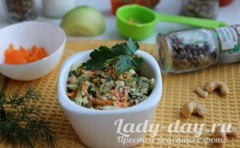 Салат из зеленой редьки рецепты с фото
