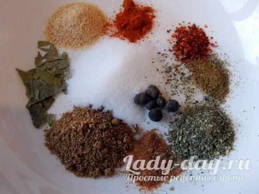 специи и соль