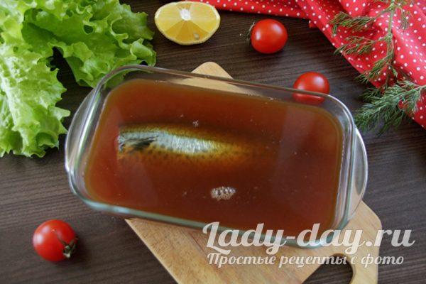 отправить рыбу в чай