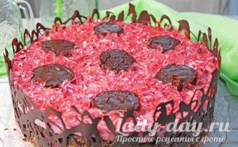 Торт «Вишневый панчо»