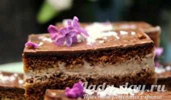 бисквитное пирожное рецепт в домашних условиях